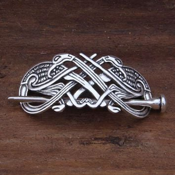 ing new arrival Antique Silver Large Celtics Knots Hairpins Hair Clips Stick Slide Accessories