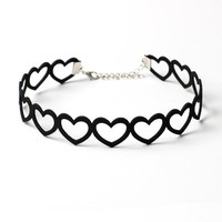 Gift Jewelry Stylish New Arrival Shiny Fashion Accessory Vintage Black Lock Necklace [9377834375]
