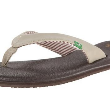 Sanuk Yoga Chakra Light Natural Flip Flops