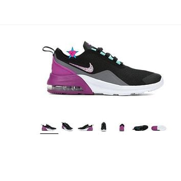 Bling Shoes for Girls | Nike Max Motion 2 Purple | 3.5-7
