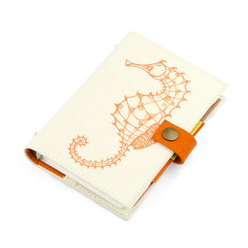 Seahorse / Artistic Planner / Calender / Organizer / A6 & A7 / weekly planner / daily planner / planner 2015 / Refillable / planner with art