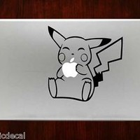 Pikachu Pokemon Decals Stickers For Macbook 13 inch
