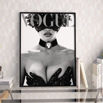 VOGUE ORIGINAL PARIS,Vogue Print,Vogue Magazine,Vogue Poster,Fashion Print,Fashionista,Modern Wall Art,Vogue Pattern,Fashion Illustration
