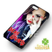 demi lovato really dont care rock-1na for iPhone 4/4S/5/5S/5C/6/ 6+,samsung S3/S4/S5,S6 Regular,S6 edge,samsung note 3/4