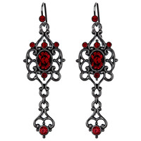VICTORIAN SCARLETT Drop Earrings