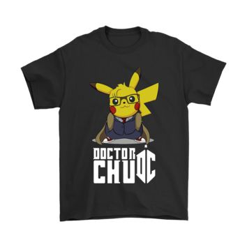 ESB8HB Doctor Chu Pikachu Doctor Who Mashup Shirts