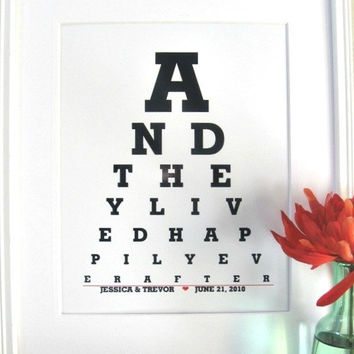 Happily ever After And They  Lived Happily ever After by Eyecharts