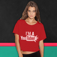 im a youtuber boxy tee