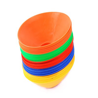Luva De Goleiro Set Of 10 Space Markers Cones Soccer Football Equipment Training Logo Plate Random Delivery GYH