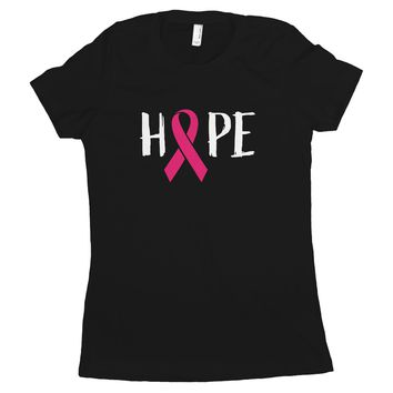 Hope Breast Cancer Shirts for Women Breast Cancer Hope Shirts for Women