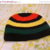 Holiday Special Rasta Colored Beanie