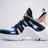 Louis Vuitton Sci-Fi Sneakers Black White Gray