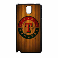 Texas Rangers Wood Pattern Samsung Galaxy Note 3 Case