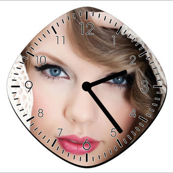 Taylor Swift Wall Clock - Home Decor - Room Decoration Gift