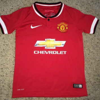 Sale!! Nike MANCHESTER UNITED Soccer Jersey MUFC Football Shirt