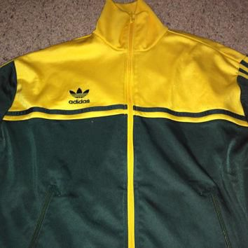 Sale!! Vintage ADIDAS Originals AUSTRALIA Track top jacket soccer jersey football shir