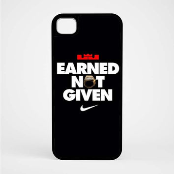 Lebron James Earned Not Given iPod 5 Case