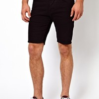 ASOS Denim Shorts In Super Skinny Fit at asos.com