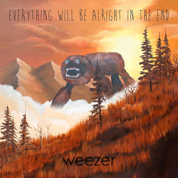 Weezer : Everything Will Be Alright In The End LP (180 Gram)