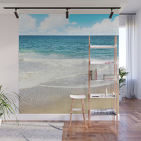 beach vibes Wall Mural by sylviacookphotography