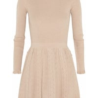 REDValentino Textured-knit dress – 65% at THE OUTNET.COM