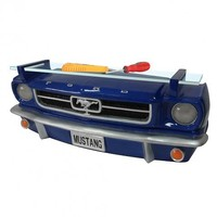 Ford 1964 1/2 Mustang 3-D Front Wall Shelf With Lights : TruffleShuffle.com