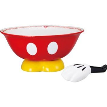 Disney Mickey Mouse ramen set with astragalus SAN2169 (japan import)