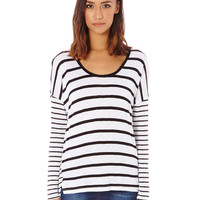 Relaxed Stripe Top