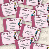Printable Naughty Coupons Booklet Erotic Coupons Love Coupons instant download digital collage sheet VDCOVI0997