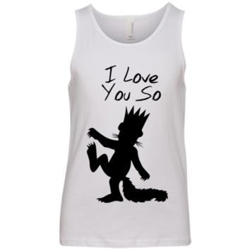 I Love You So Youth Jersey Tank