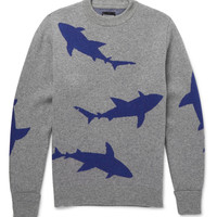 Christopher Raeburn - Shark-Intarsia Wool Sweater | MR PORTER