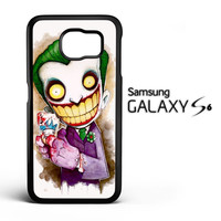 Funny Joker Face Z02324 Samsung Galaxy S6 Case