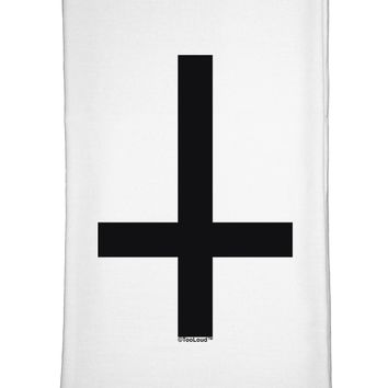 Inverted Cross Flour Sack Dish Towel