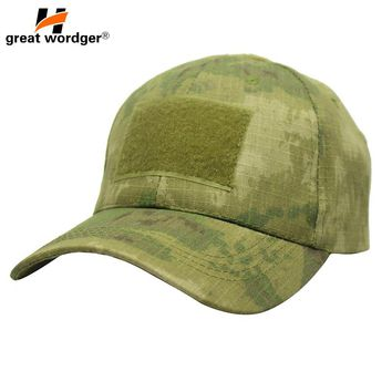Outdoor Sport Snapback Caps Camouflage Hat US Soldier Tactical Military Army Camo Hiking Hunting Cap Hat For Men Multicam Cap