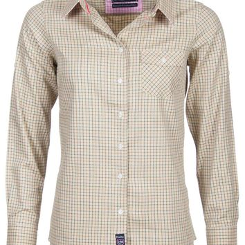 Rydale Ladies Striped or Checked Country Shirts Classic Work Long Sleeved Shirts