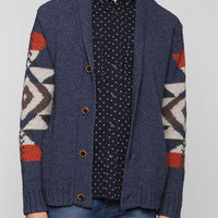 life/after/denim Geo Cardigan - Urban Outfitters