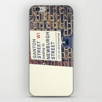 London street sign iPhone & iPod Skin by Architect´s Eye | Society6