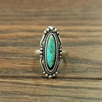 Essential Stone Turquoise Ring