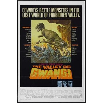 The Valley of Gwangi 27x40 Movie Poster (1969)