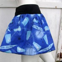 Doctor Who Skirt shirt S-XL DiY geek derby Dalek Tardis | PoppysWickedGarden - Clothing on ArtFire