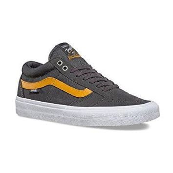 Vans Men's TNT SG Pewter/Sunflower Skateboarding Shoes