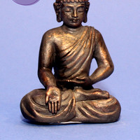 Mini Earth Touching Buddha Figurine