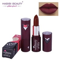 1PC Professional Matte Lip Stick Beauty Long Lasting 12 Color Waterproof Pigmented Brown Sexy Dark Red Matte Lipsticks Lot