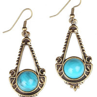 Azure Chandelier Earrings