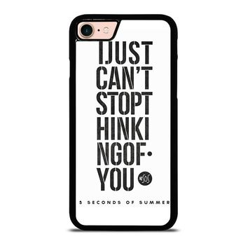 5 SECONDS OF SUMMER 6 5SOS iPhone 8 Case Cover