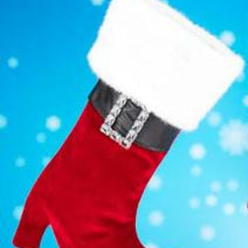 Christmas Stocking - Mrs. Claus
