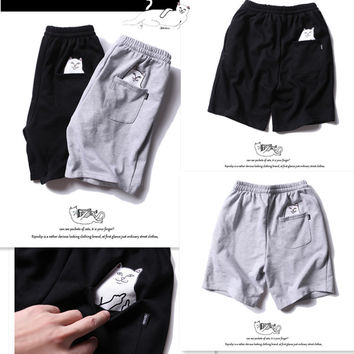 Summer Hot Sale Women Men Fashion Finger Cat Shorts = 6236922756
