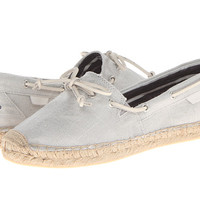 Sperry Top-Sider Katama Grey Metallic Linen - 6pm.com