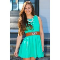 On The Ranch Dress-Spearmint
