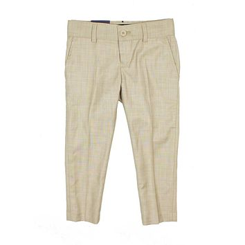 Armando Boys' Skinny Fit Tan Pants